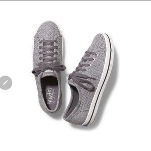 EUC Women's Keds Kickstart Glitter Wool Shoes